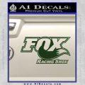 Fox Shox Decal Sticker D1 Dark Green Vinyl 120x120
