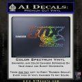 Fox Shox Decal Sticker D1 Glitter Sparkle 120x120