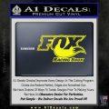 Fox Shox Decal Sticker D1 Yellow Laptop 120x120