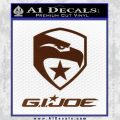 GI Joe Decal Sticker Movie BROWN Vinyl 120x120
