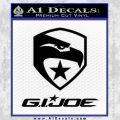 GI Joe Decal Sticker Movie Black Vinyl 120x120