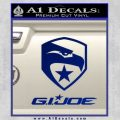 GI Joe Decal Sticker Movie Blue Vinyl 120x120
