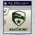 GI Joe Decal Sticker Movie Dark Green Vinyl 120x120