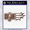 GI Joe Original Decal Sticker BROWN Vinyl 120x120