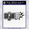 GI Joe Original Decal Sticker Black Vinyl 120x120