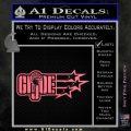 GI Joe Original Decal Sticker Pink Emblem 120x120