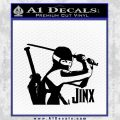 GI Joe Retaliation Jinx Ninja Decal Sticker Black Vinyl 120x120