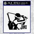 GI Joe Retaliation Jinx Ninja Decal Sticker Black Vinyl 120x120