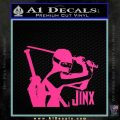 GI Joe Retaliation Jinx Ninja Decal Sticker Pink Hot Vinyl 120x120