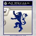 Game Of Thrones Decal Sticker House Lannister Blue Vinyl 120x120