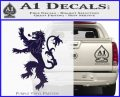 Game Of Thrones Decal Sticker House Lannister PurpleEmblem Logo 120x97