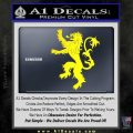 Game Of Thrones Decal Sticker House Lannister Yellow Laptop 120x120