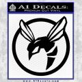 Green Hornet Decal Sticker Black Vinyl 120x120