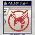 Green Hornet Decal Sticker Red 120x120