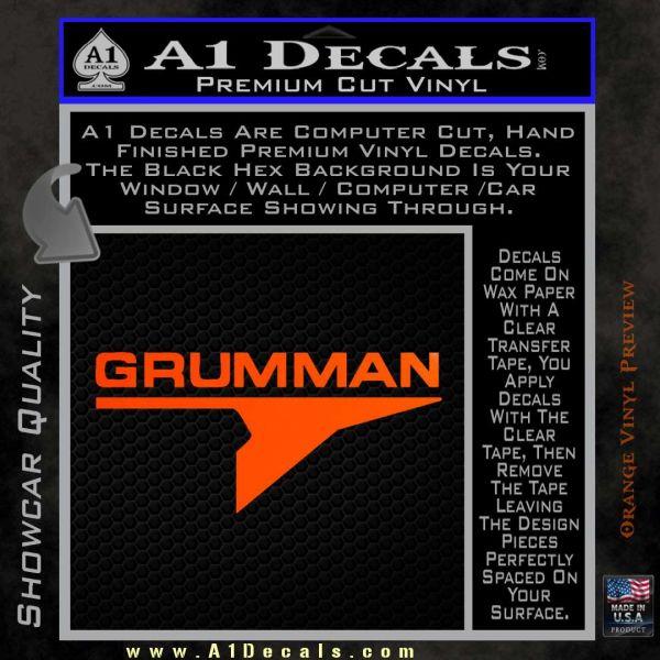 Grumman Decal Sticker 187 A1 Decals