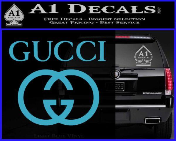 Gucci Full Decal Sticker 187 A1 Decals