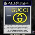 Gucci Full Decal Sticker Yellow Laptop 120x120