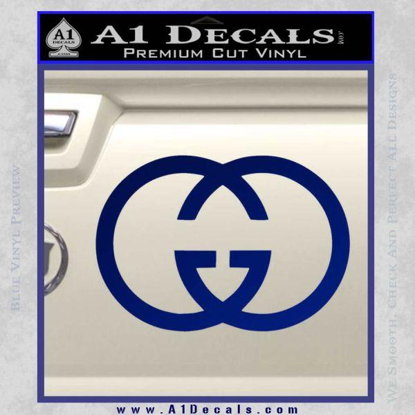 Gucci Logo Decal Sticker 187 A1 Decals