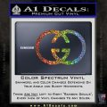 Gucci Logo Decal Sticker Glitter Sparkle 120x120
