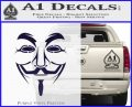 Guy Fawkes Anonymous Mask V Vendetta D3 Decal Sticker PurpleEmblem Logo 120x97
