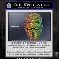 Guy Fawkes Anonymous Mask V Vendetta D4 Decal Sticker Glitter Sparkle 120x120