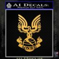 Halo Series United Nations Space Command Logo D1 Decal Sticker Gold Vinyl 120x120