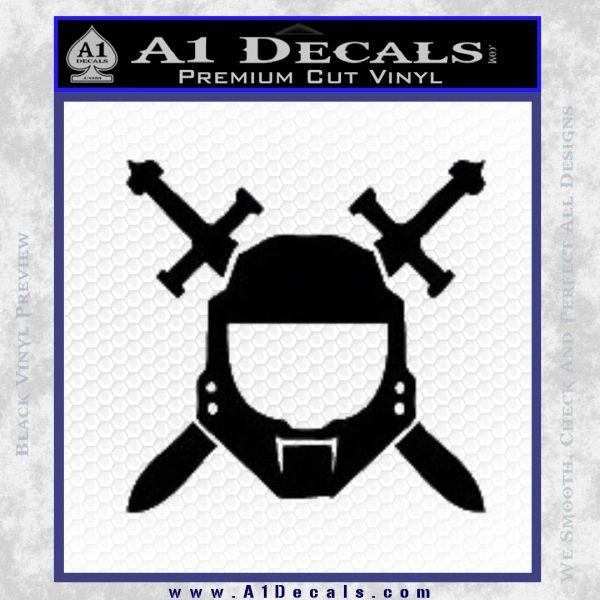 Halo Spartan Helmet Sticker Decal A1 Decals