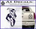 Harley Quinn Smoking Gun D2 Decal Sticker PurpleEmblem Logo 120x97