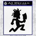 Hatchet Man Decal Sticker ICP Black Vinyl 120x120