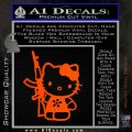 Hello Kitty AK 47 Decal Sticker Orange Emblem 120x120