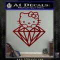Hello Kitty JDM Diamond Decal Sticker DRD Vinyl 120x120