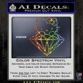 Hello Kitty JDM Diamond Decal Sticker Glitter Sparkle 120x120