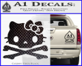 Hello Kitty Skull and Crossbones Decal Sticker CFB Vinyl 120x97