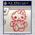 Hello Kitty Zombie Apocolypse HKZ Decal Sticker Red Vinyl 120x120