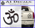 Hinduism Symbol Decal Sticker CFB Vinyl 120x97
