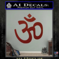 Hinduism Symbol Decal Sticker DRD Vinyl 120x120