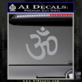 Hinduism Symbol Decal Sticker Grey Vinyl 120x120