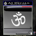 Hinduism Symbol Decal Sticker White Vinyl 120x120