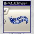 Hot Wheels Decal Sticker D2 Blue Vinyl 120x120