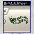 Hot Wheels Decal Sticker D2 Dark Green Vinyl 120x120