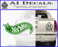 Hot Wheels Decal Sticker D2 Green Vinyl 120x97