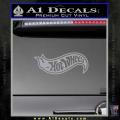 Hot Wheels Decal Sticker D2 Grey Vinyl 120x120