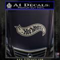Hot Wheels Decal Sticker D2 Metallic Silver Vinyl 120x120