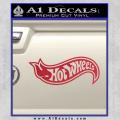 Hot Wheels Decal Sticker D2 Red Vinyl 120x120