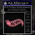 Hot Wheels Decal Sticker D2 Soft Pink Emblem 120x120
