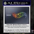 Hot Wheels Decal Sticker D2 Spectrum Vinyl 120x120