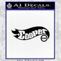 Hot Wheels Mini Cooper D1 Decal Sticker Black Vinyl 120x120