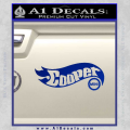 Hot Wheels Mini Cooper D1 Decal Sticker Blue Vinyl 120x120