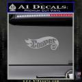 Hot Wheels Mini Cooper D1 Decal Sticker Grey Vinyl 120x120