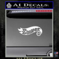 Hot Wheels Mini Cooper D1 Decal Sticker White Vinyl 120x120
